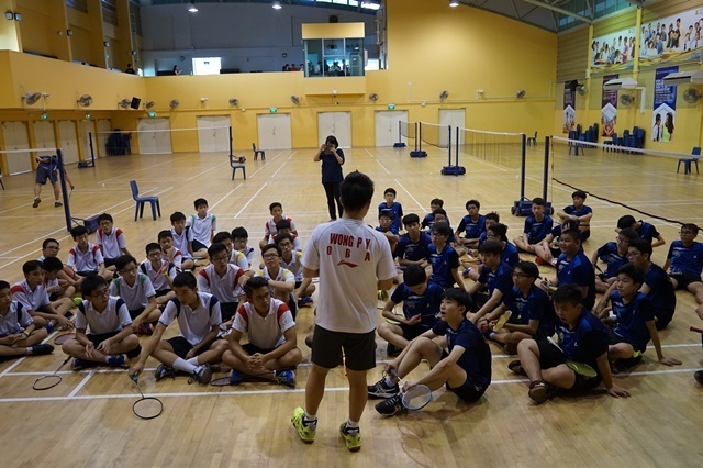 2. Coach briefing during Friendly with Admiralty Sec.JPG