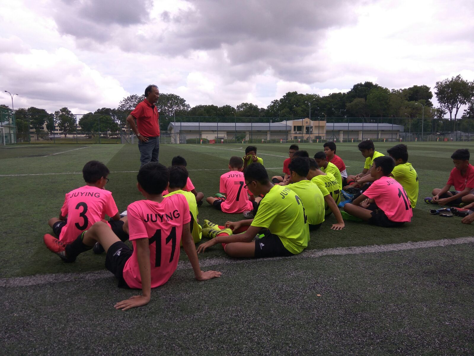 C_ Division Boys training with Coach Sies (22 Aug 2017)
